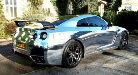 Nissan GT-R: от белого винила до хромового блеска