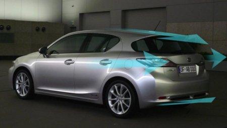 Lexus показала аэродинамические способности CT 200h