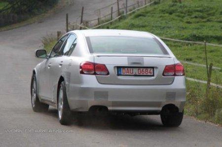 Первые шаги Lexus GS четвертой генерации