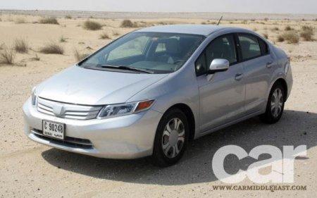 Новый седан Honda Civic сфотографировали без камуфляжа
