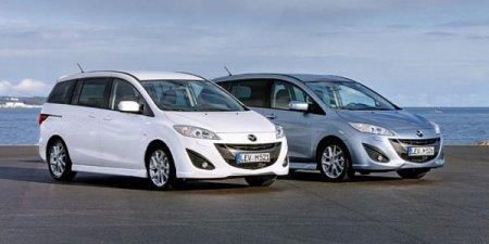Mazda5 2011 дополнилась новым 1.6-литровым дизелем