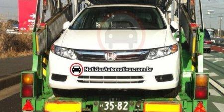 В Японии сфотографировали новый седан Honda Civic