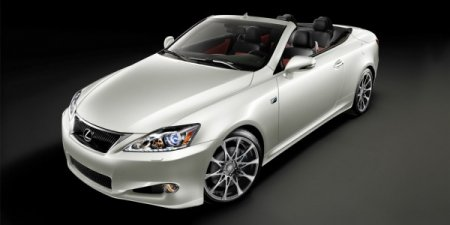 Lexus IS 350C F Sport SE 2011 обзавелся стоимостью