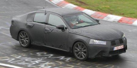 Седан Lexus GS поколения «next» объявился в Европе