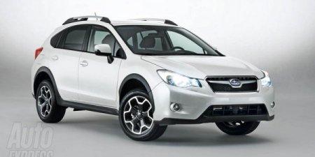 Subaru официально представила кроссовер XV